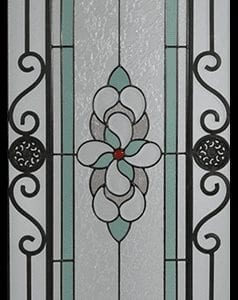 Brimling Stained Glass Door Insert