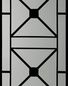 Brooklyn Wrought Iron Door Insert
