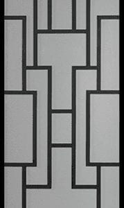 Gatsby Wrought Iron Door Insert