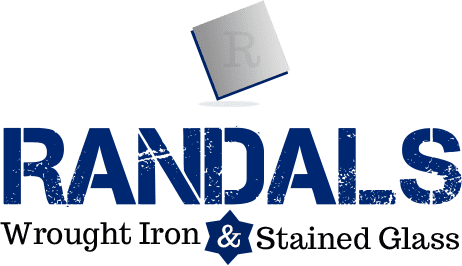 Randal's Wrought Iron & Stained Glass Door Inserts Logo
