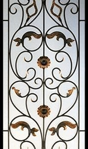 Wynford Wrought Iron Door Insert