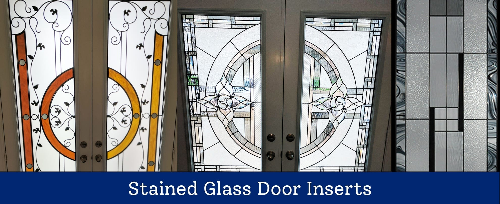 Stained Glass Door Inserts