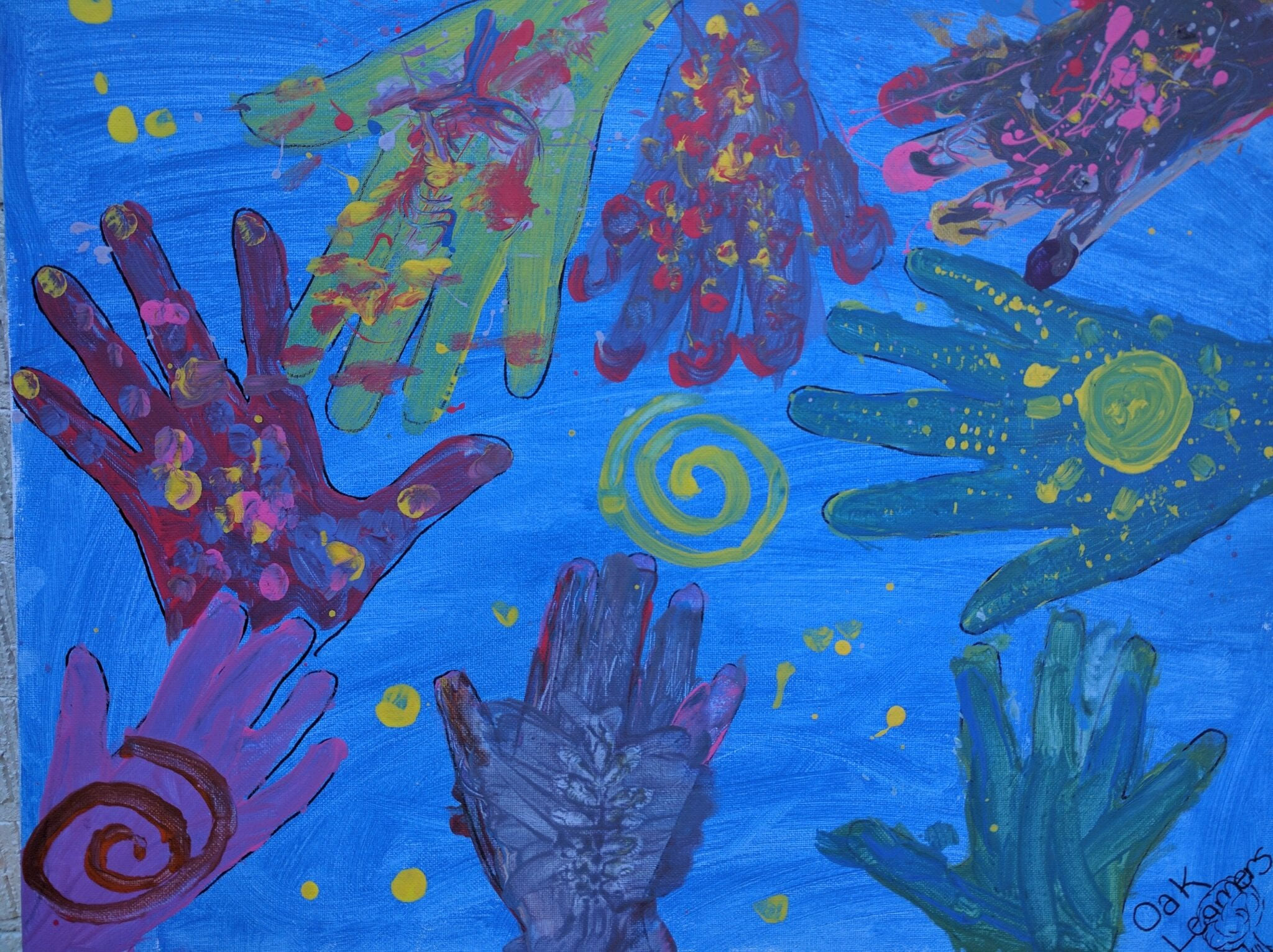 Mindfulness through Artistic Expression at Oak Learners!