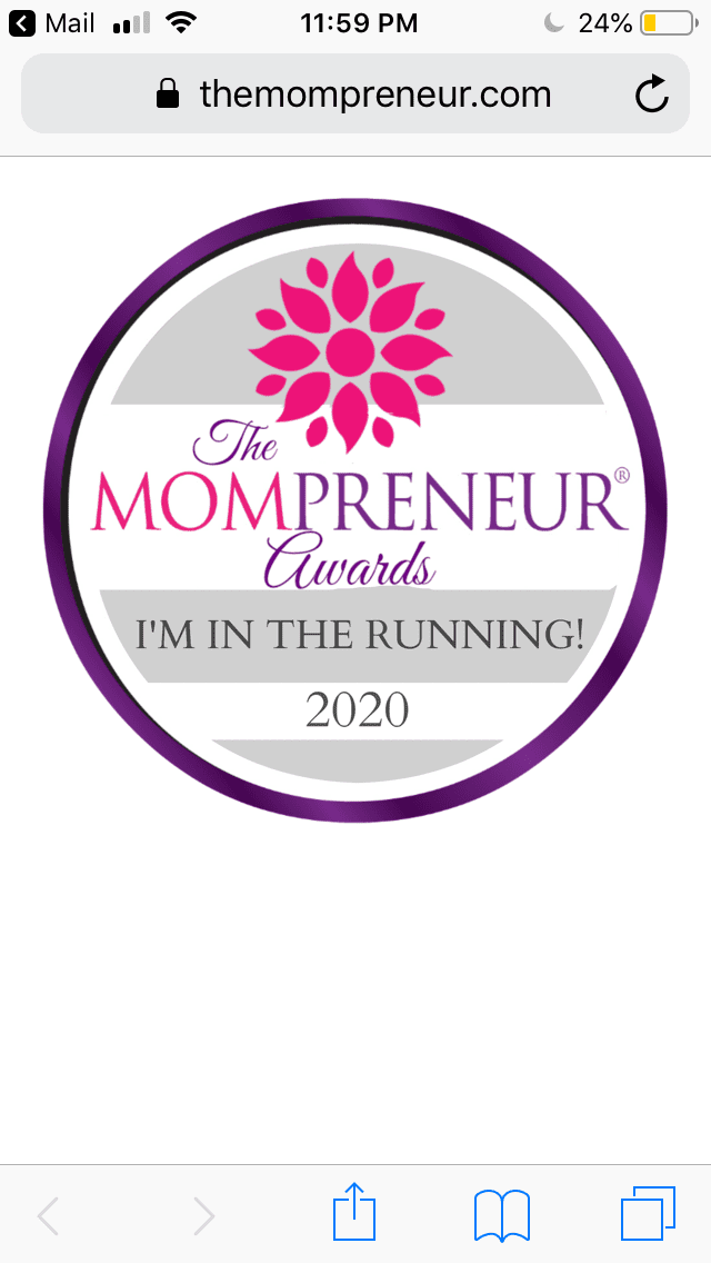 Vote for MenopausED for the 2020 Mompreneur Awards