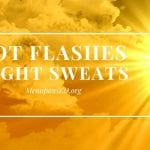 Tips to minimize hot flashes in hot weather